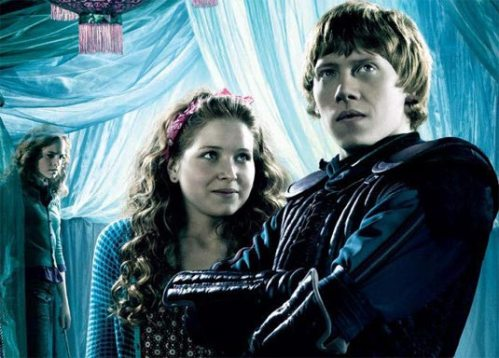 Ron, Lavender, Hermione